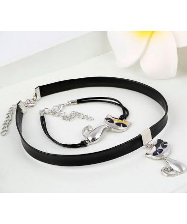 Souprava náušnice a náhrdelník