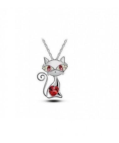 Náhrdelník Okatá kočka - dvě varianty