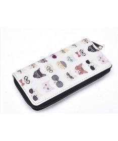Dámská peněženka Kočičí hlavičky