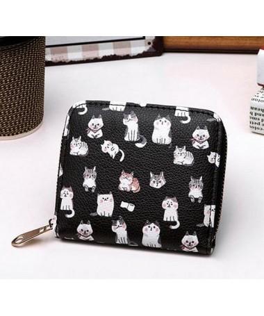 Dámská peněženka Kočička