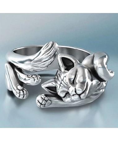 Prsten Zatočená kočka