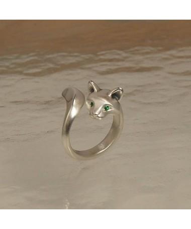 Kočičí prsten větší