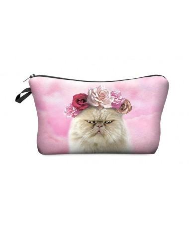 Kosmetická taštička Smutné kotě